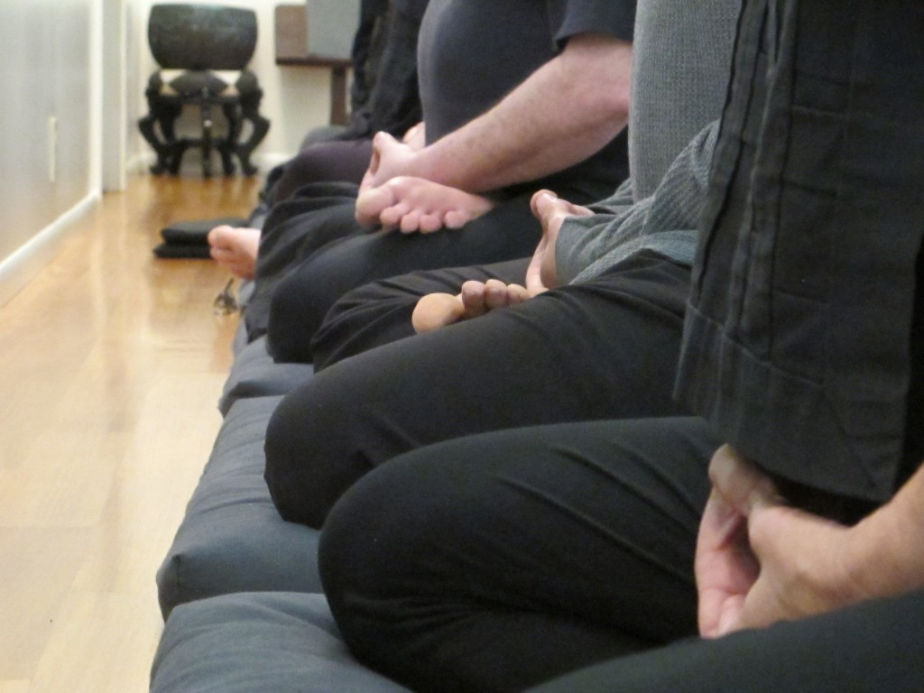 Hands and legs zazen